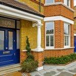 Front door and Conservation Range Sash Windows