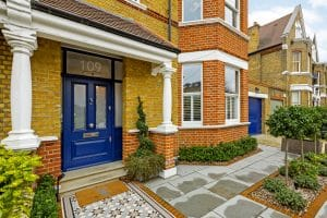 Putney sash windows & Edwardian front door