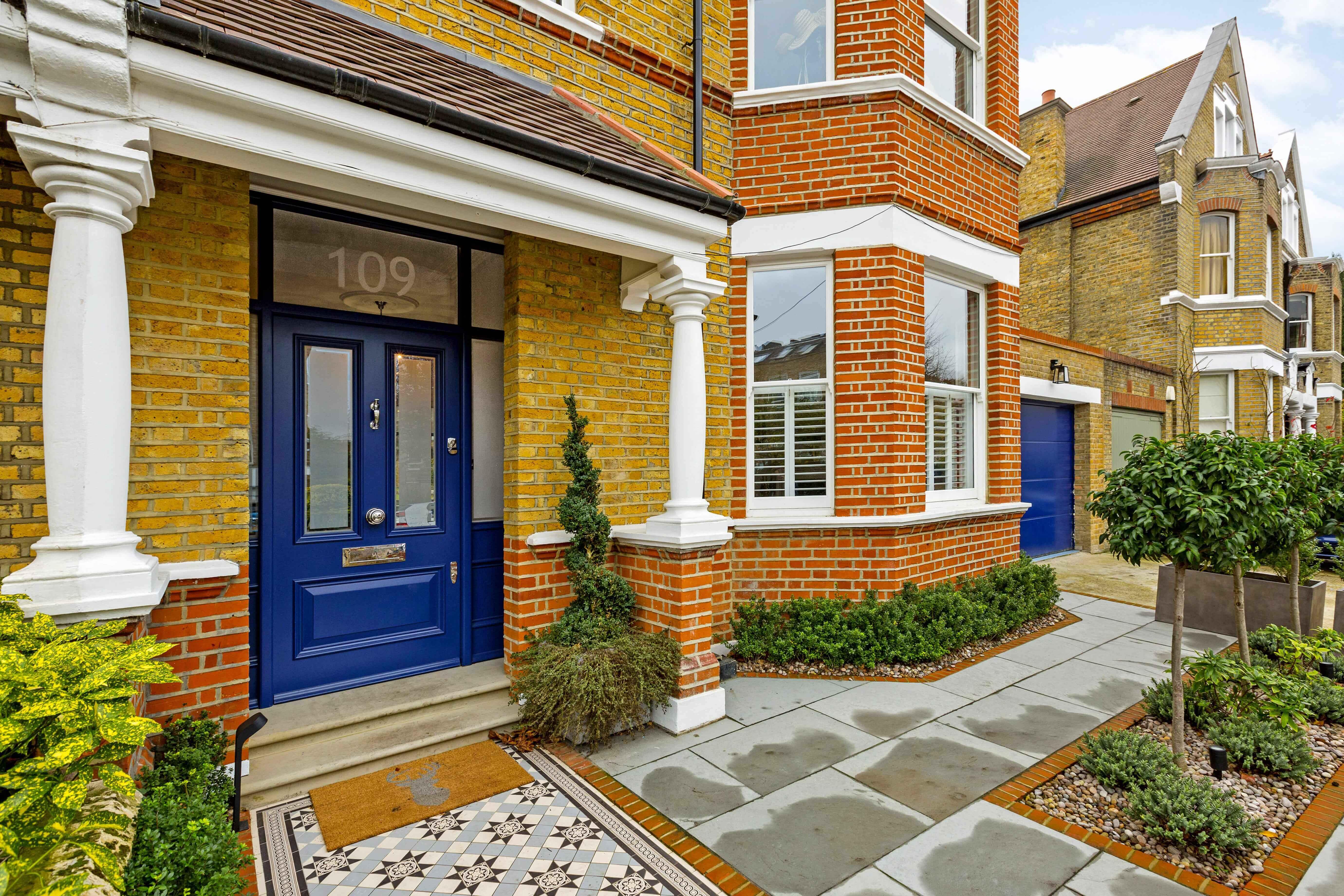 Edwardian style front door & sash windows