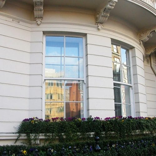 Replacement bay sash windows