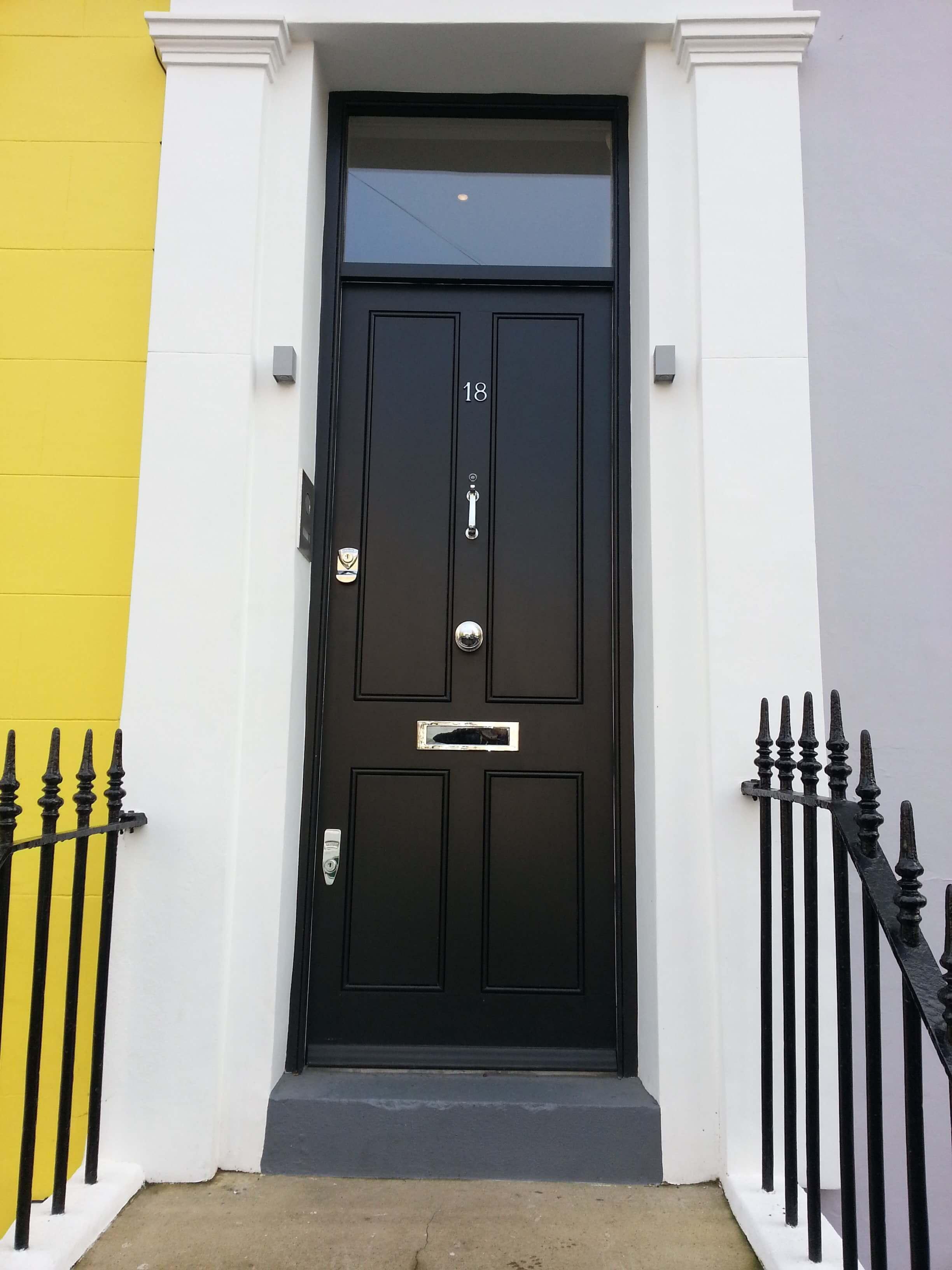 Custom Built Traditional Front Doors Victorian