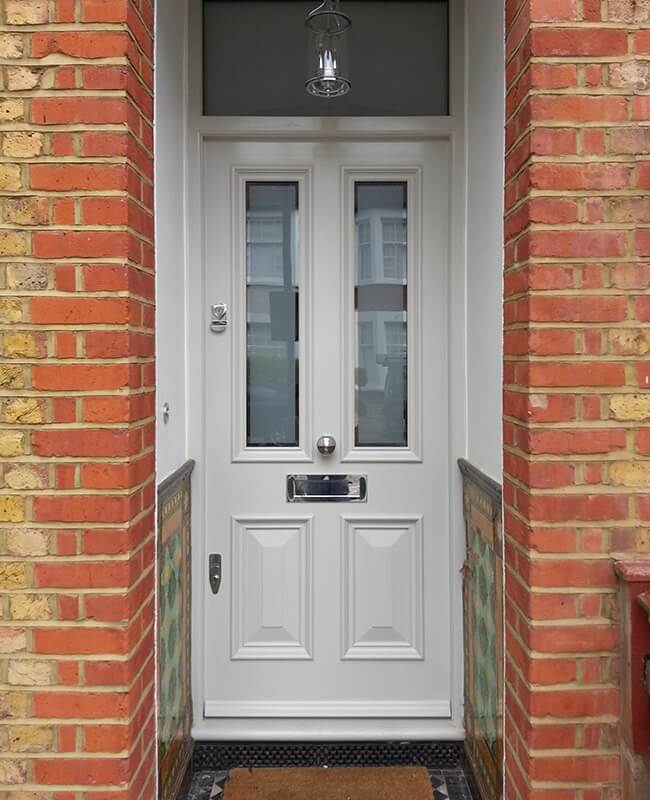 Custom-built Traditional Front Doors