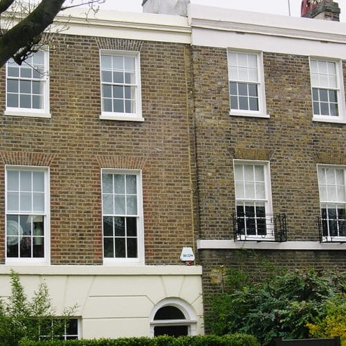 Replacement Georgian sash windows