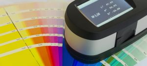 Spectrophotometer - exact-match paint colour