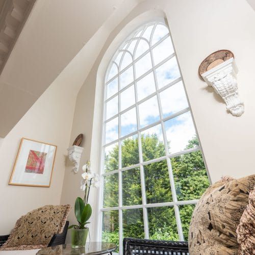 Gothic style feature window