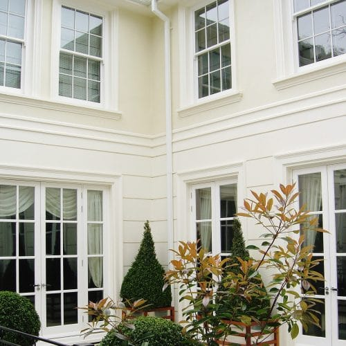 Conservation sash windows & french doors