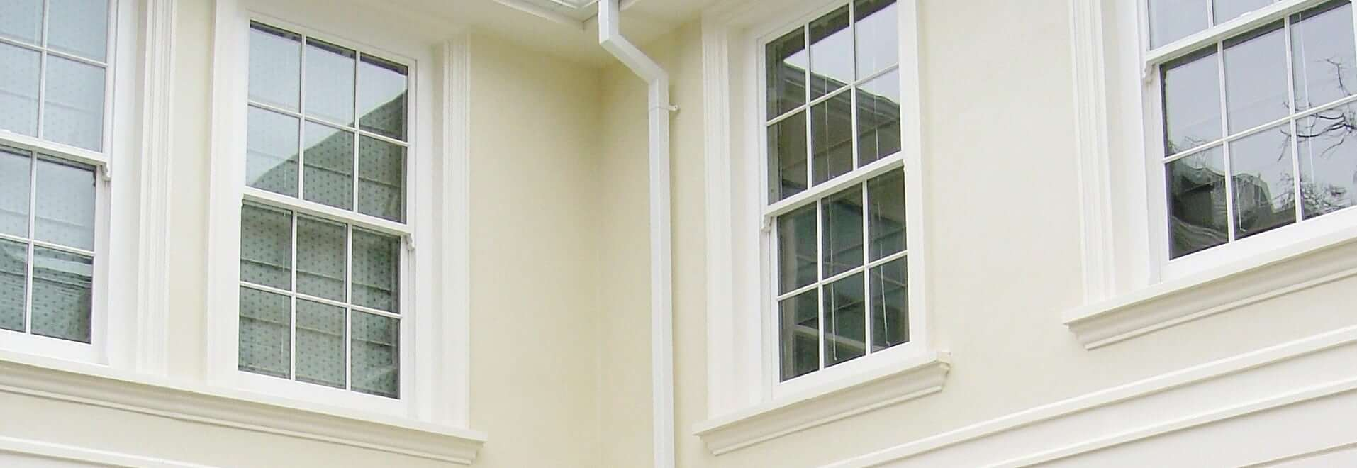Bespoke box sash windows