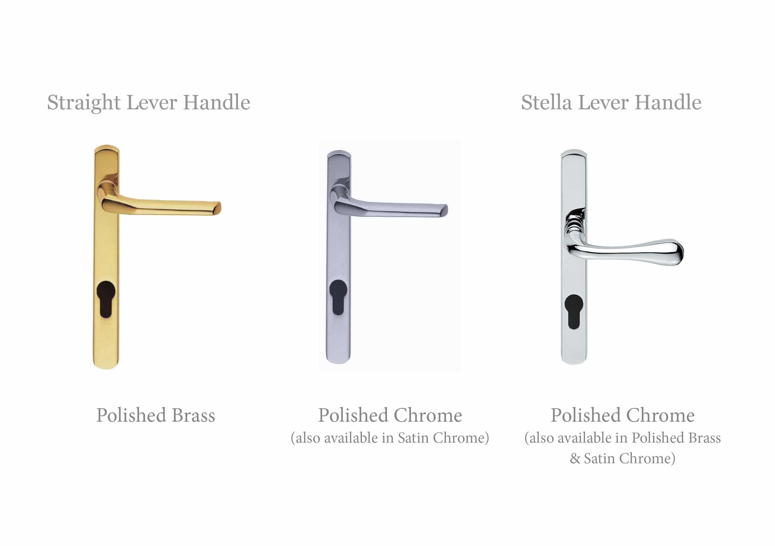 Straight Lever/ Stella Lever Handle