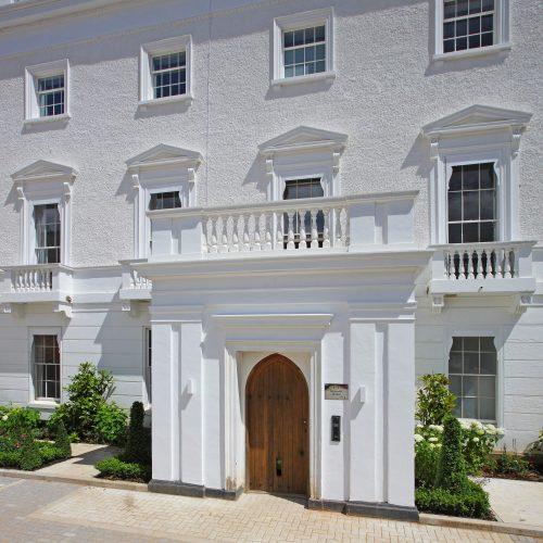 Grade II listed sash windows