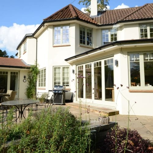 Coordinated casement windows & bifold doors