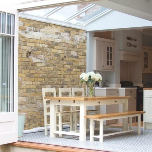 Open bifold doors - glazing bars & panels