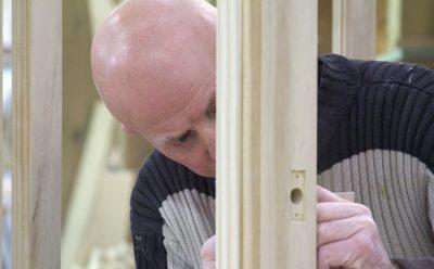 Handmade timber window