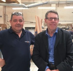 MD Julian Selby & Charles Brooking