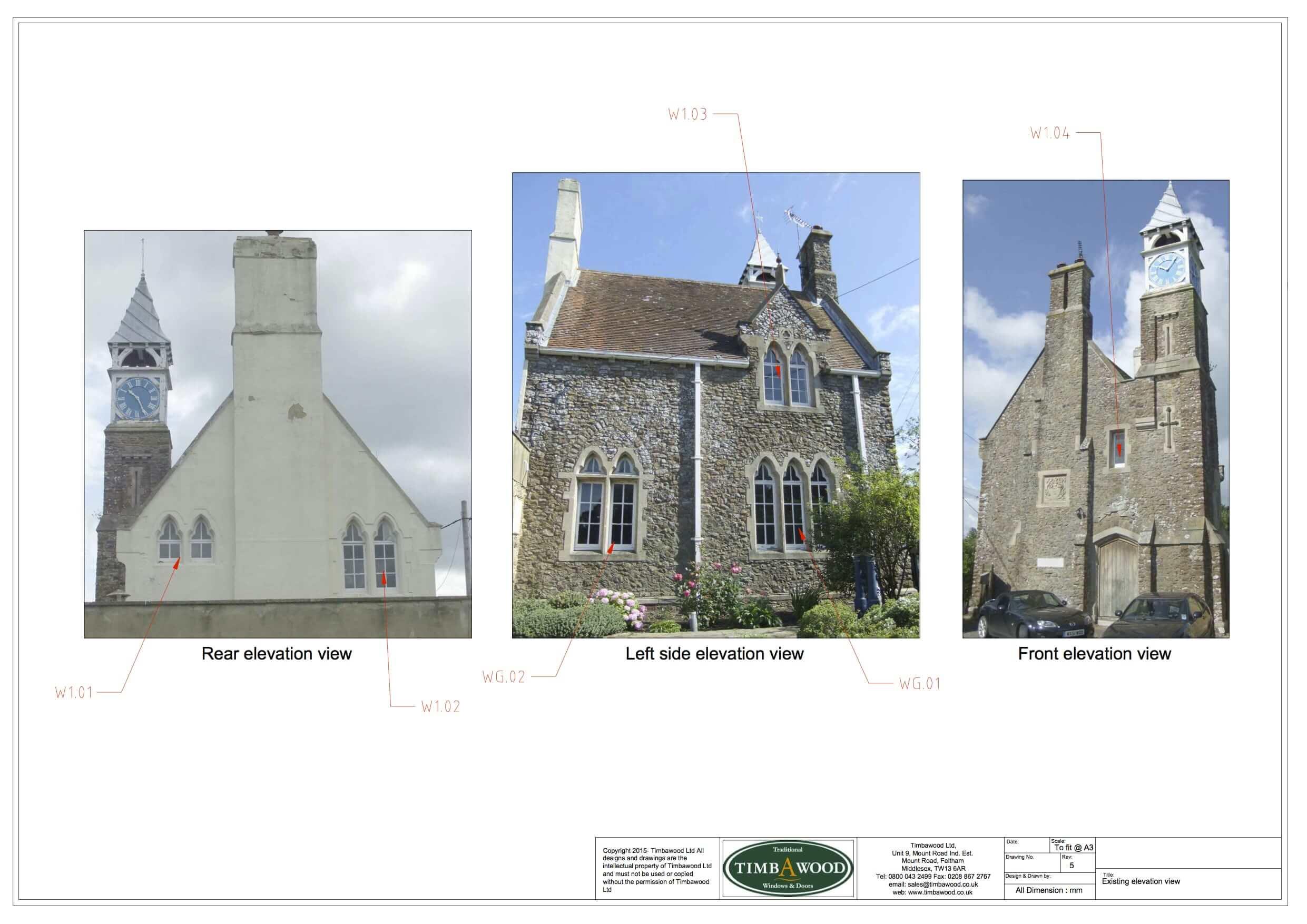 Grade II Listed windows East Sussex
