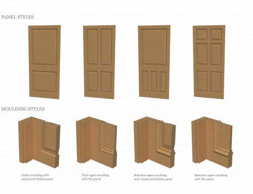 Period Front Doors: Panels & Mouldings