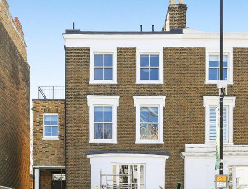 Traditional Sash Windows in Fulham