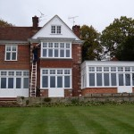 Period casement windows and french doors