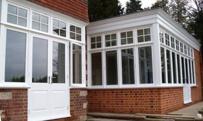 Edwardian French doors & casement windows