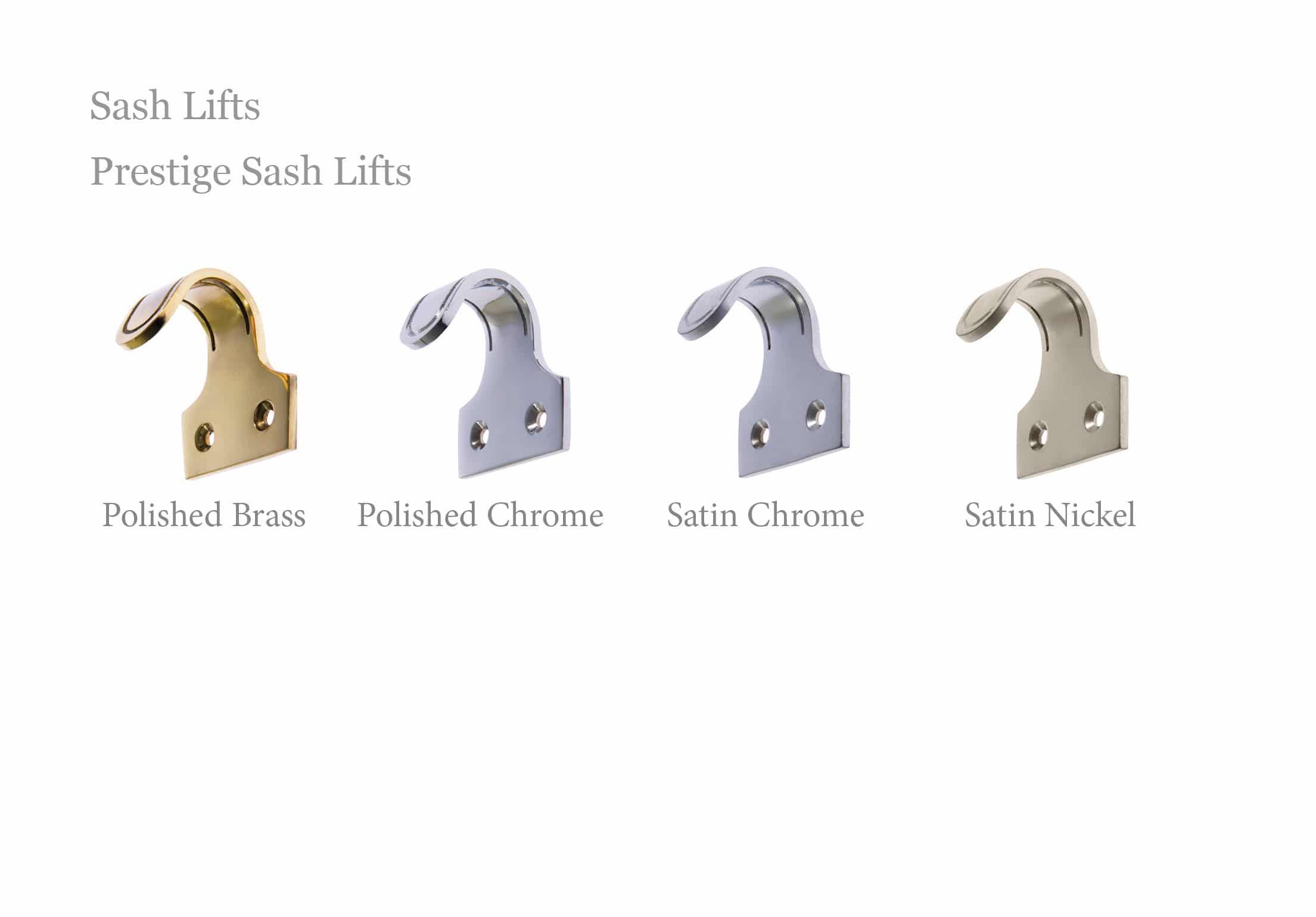Prestige sash lifts
