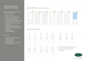 Fire doors panel & moulding styles