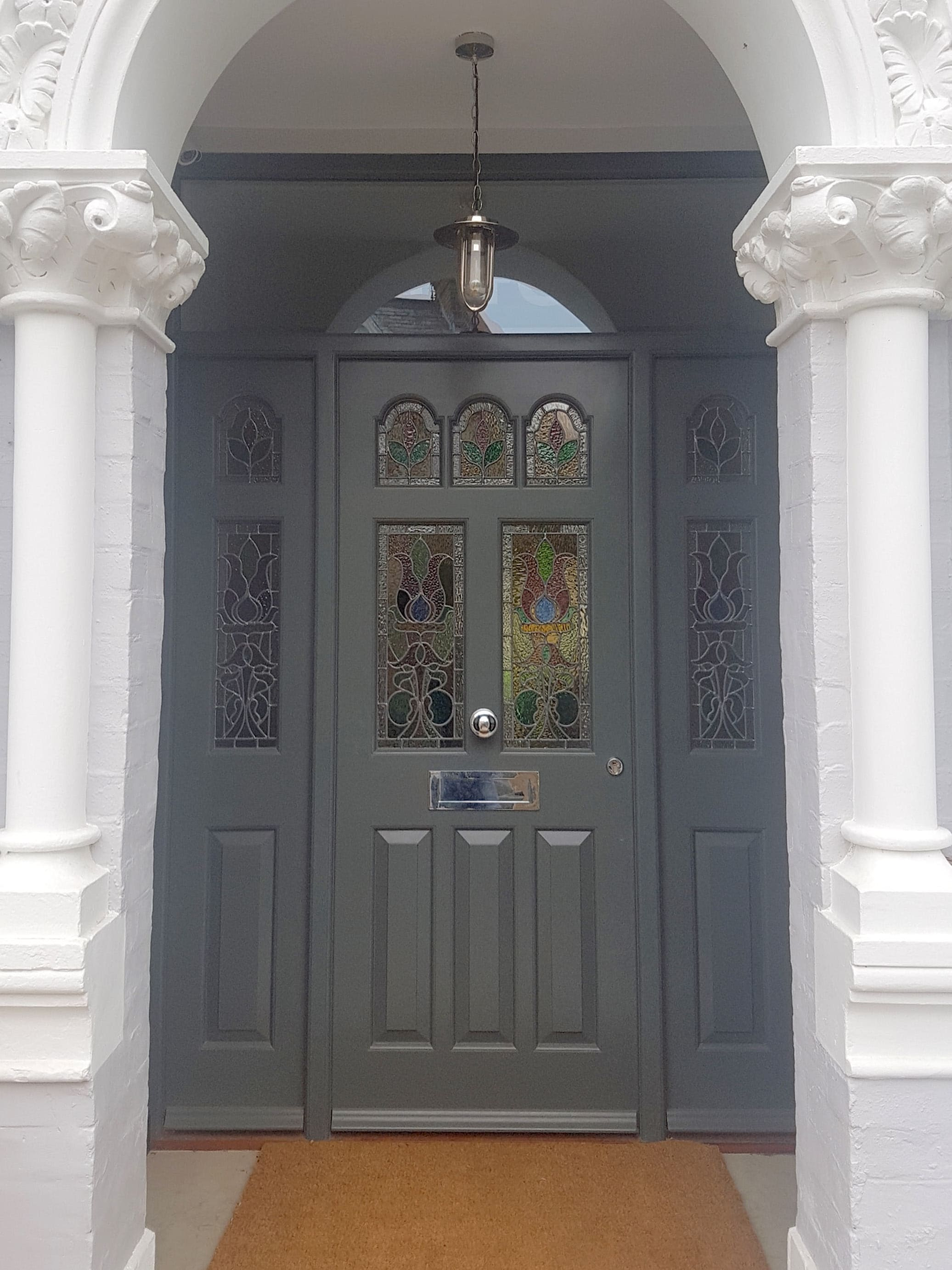 Choosing Colours For Edwardian Victorian And Georgian Front Doors Timbawood