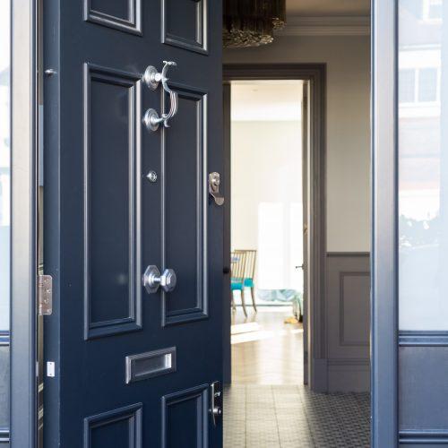 Traditional 6 panel front door
