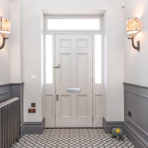 Interior front door, Richmond