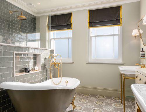 Glazing designs for bathroom windows and doors