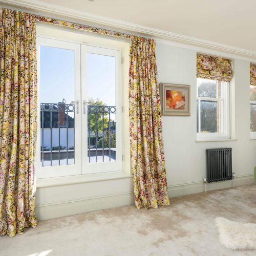French doors & sash windows