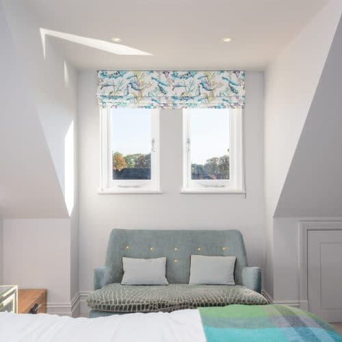 Casement windows - bedroom