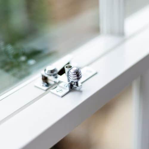 Sash window hardware