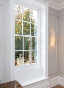 Traditional Georgian sash windows