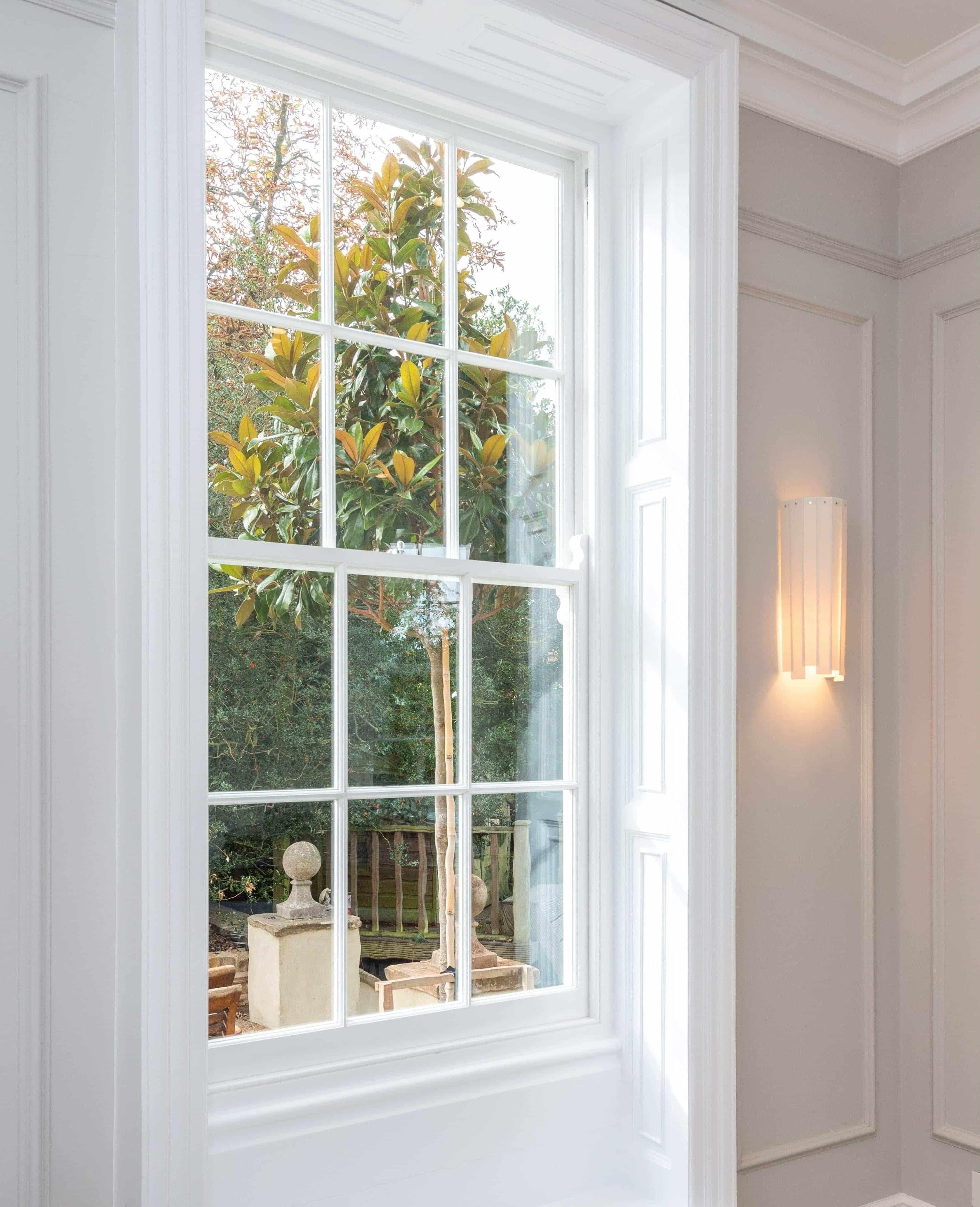 Traditional Georgian sash windows