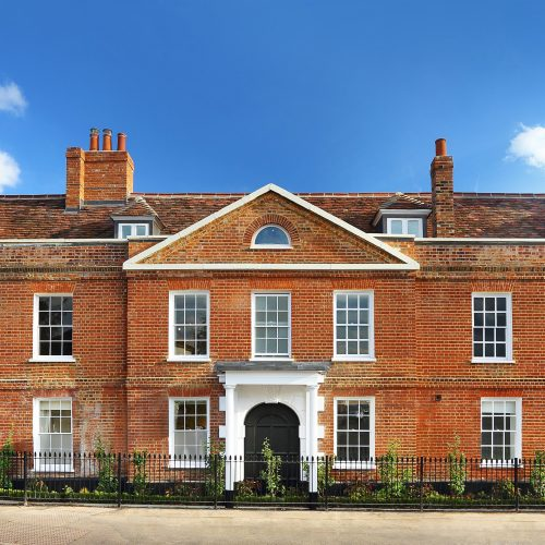 Grade II listed sash window repair, Cobham