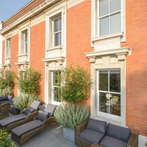 Conservation sash windows Kensington & Chelsea
