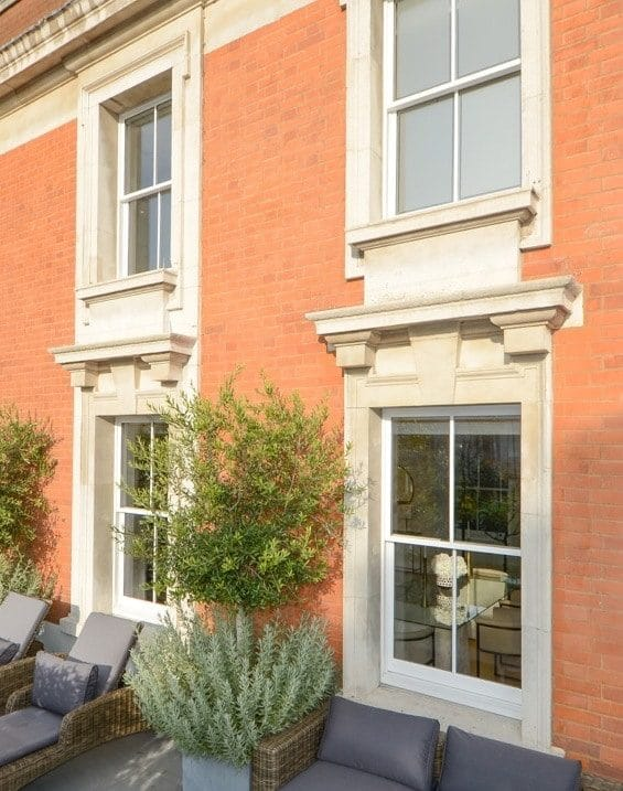 Conservation Double Glazed Sash windows