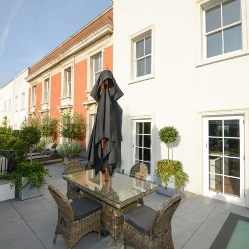 Conservation sash windows & french doors Kensington & Chelsea