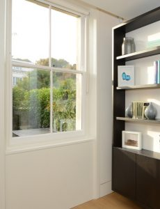 Conservation sash windows - interior