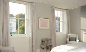 Slimline double glazed sash windows