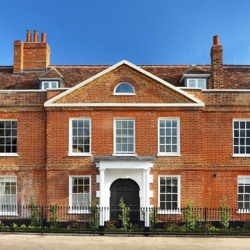 Grade II listed refurbishment project in Cobham