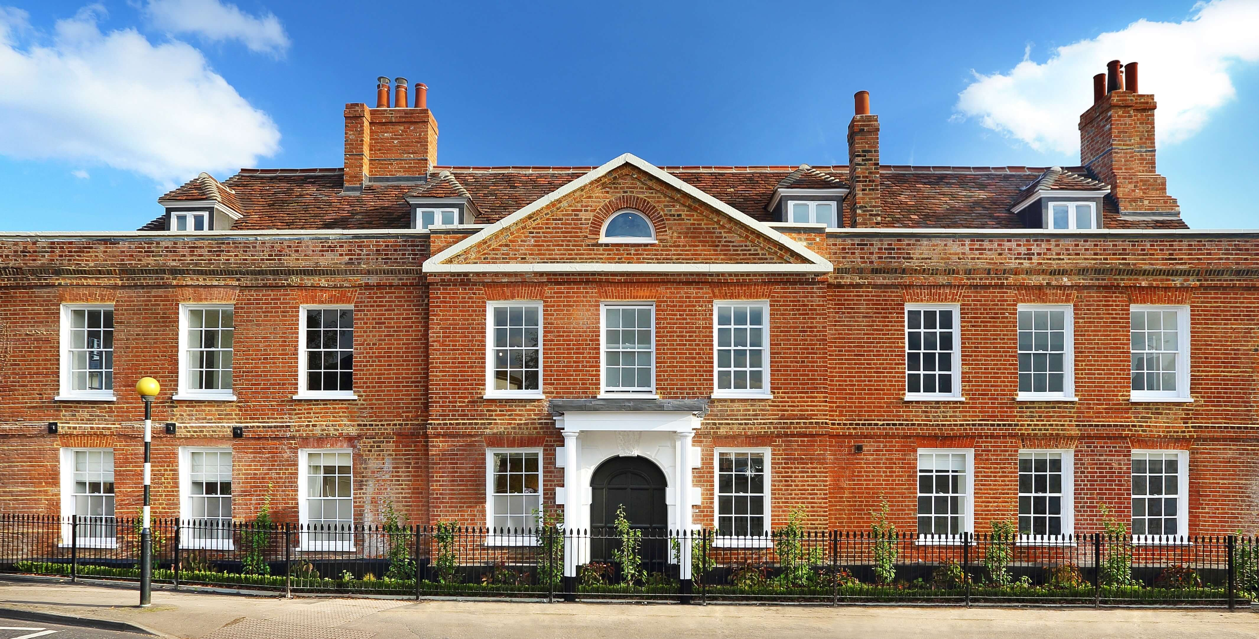 Grade II listed refurbishment project in Cobham