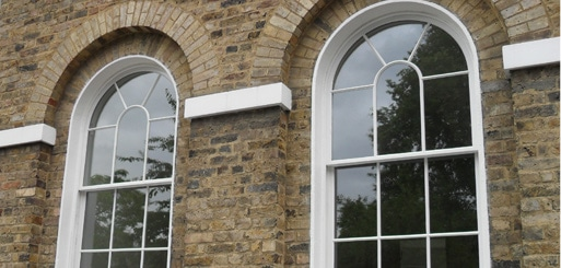 Listed sash windows London