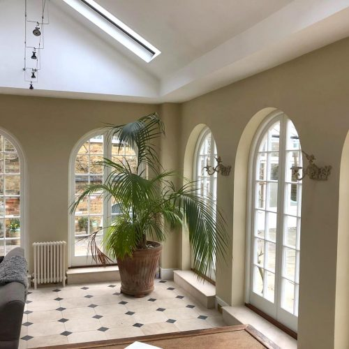 Georgian Curved French doors