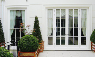 Bespoke timber French doors